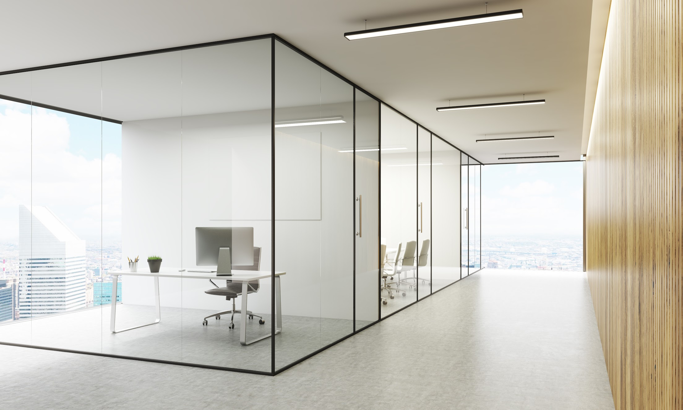 Office Glass Partitions Brisbane Otal Constructions