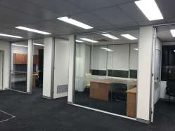 Glass Partitions installed by Otal Constructions
