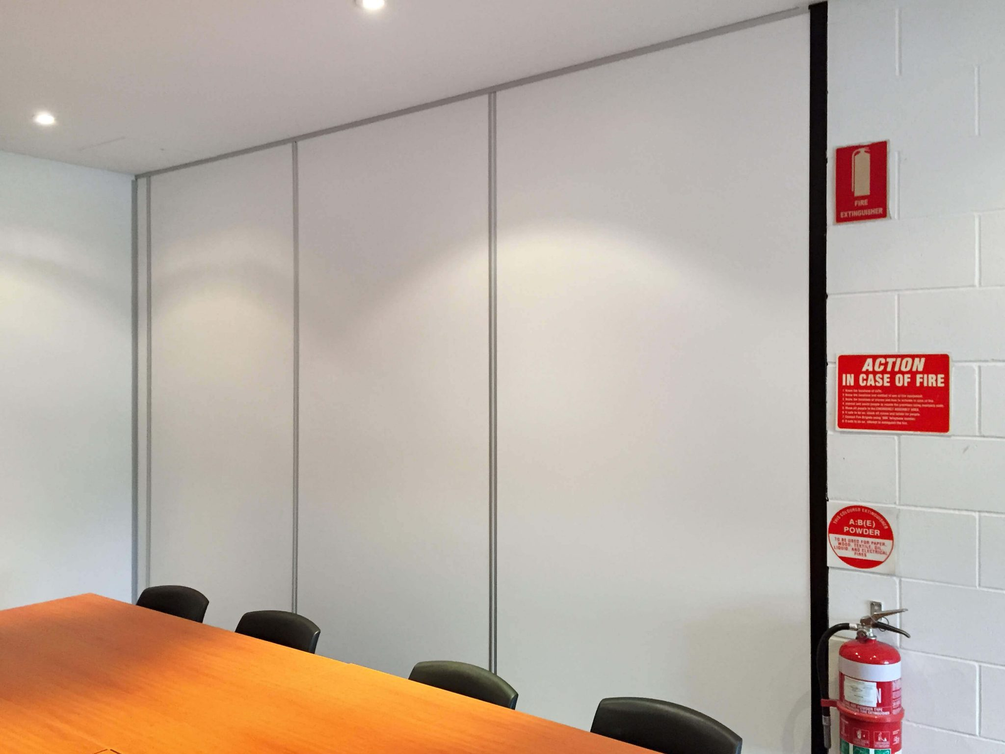Partition Fit outs completed by Otal Constructions 2