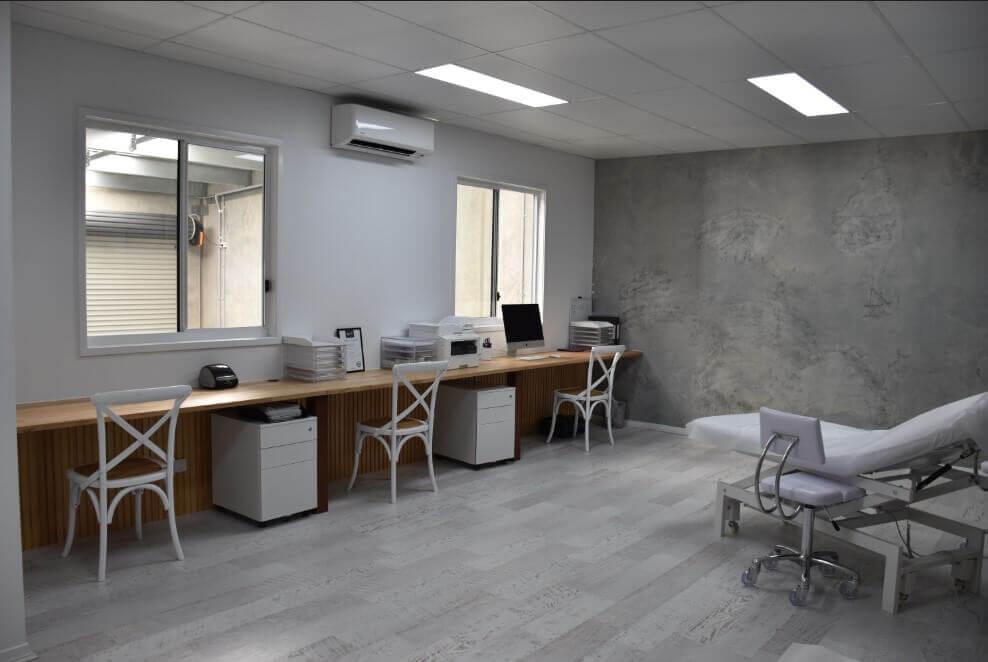 LashXtend office fitout Brisbane