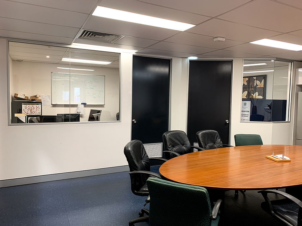 Otal Constructions Partition Walls For office fit outs Brisbane