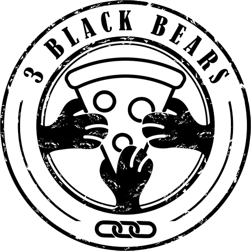 3 Black Bears logo